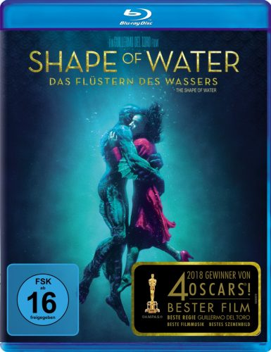 Shape of Water - Das Flüstern des Wassers Blu-ray Review Cover