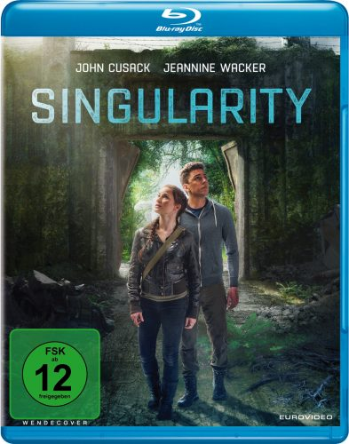 Singularity Blu-ray Review Cover