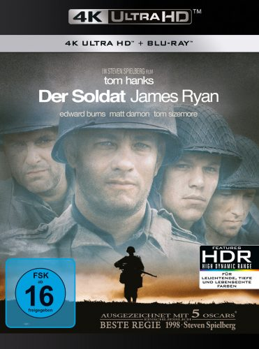 Soldat James Ryan 4K UHD Blu-ray Review Cover