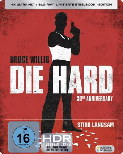Stirb Langsam - Die Hard Blu-ray Steelbook Review Cover