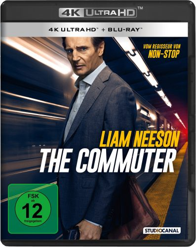 The Commuter 4K UHD Blu-ray Review Cover