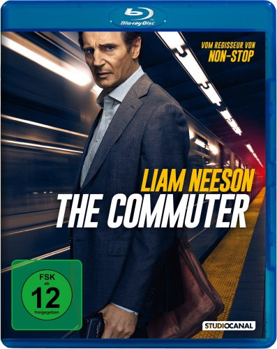 The Commuter Blu-ray Review Cover