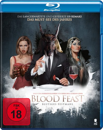 Blood Feast - Blutiges Festmahl Blu-ray Review Cover