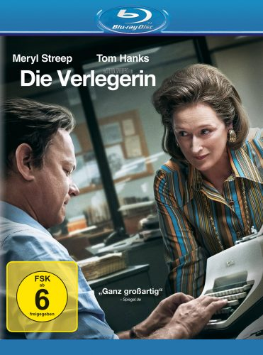 Die Verlegerin Blu-ray Review Cover