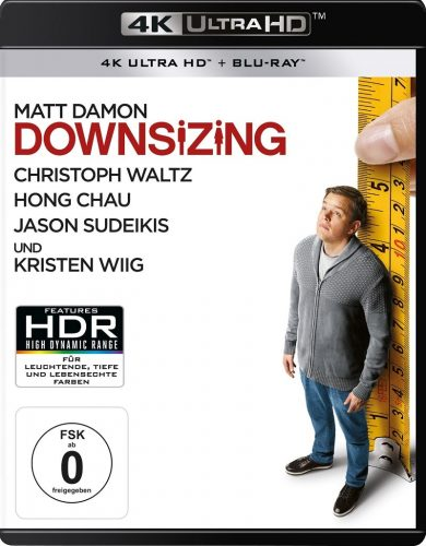 Downsizing 4K UHD Blu-ray Review Cover