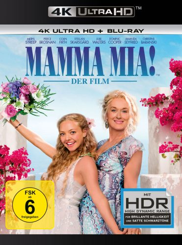 Mamma Mia Der Film 4K UHD Blu-ray Review Cover