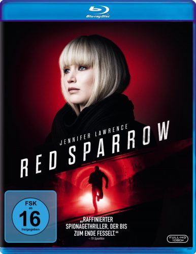Red Sparrow Blu-ray Review Cover
