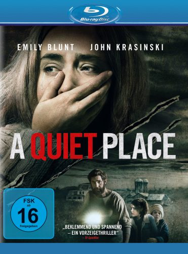A Quiet Place Blu-ray Review Cover