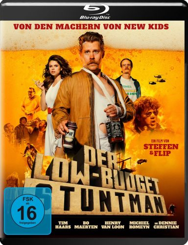 Low Budget Stuntman Blu-ray Review Cover