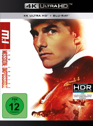 Mission Impossible 4K UHD Blu-ray Review Cover
