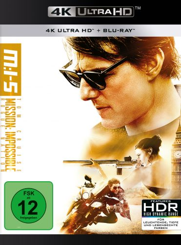 Mission Impossible 5 - Rogue Nation 4K UHD Blu-ray Review Cover