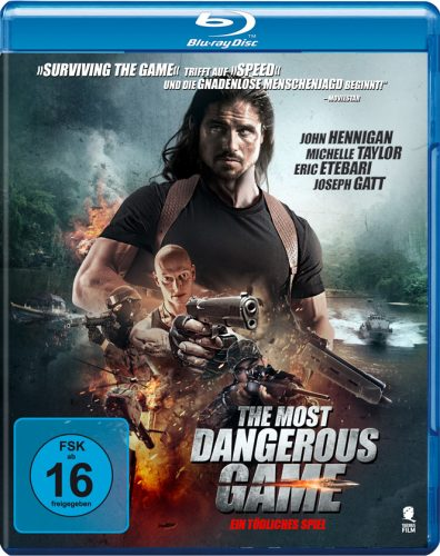 Most Dangerous Game Blu-ray Review Cover