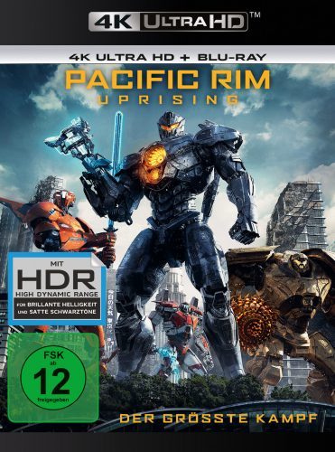 Pacific Rim Uprising 4K UHD Blu-ray Review Cover
