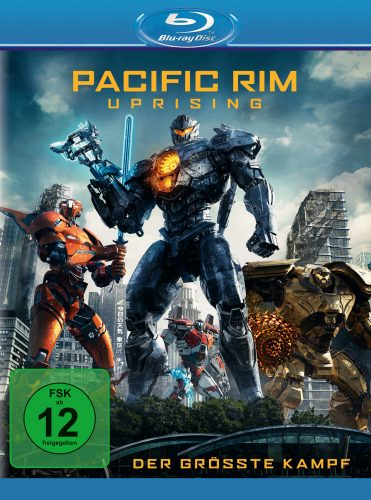 Pacific Rim Uprising Blu-ray Review Cover