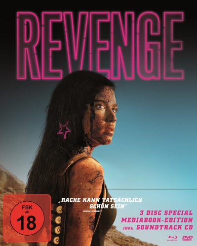 Revenge Blu-ray Review Cover