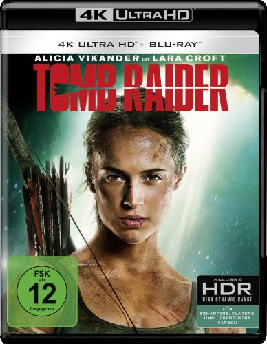 Tomb Raider 4k UHD Blu-ray Review Cover