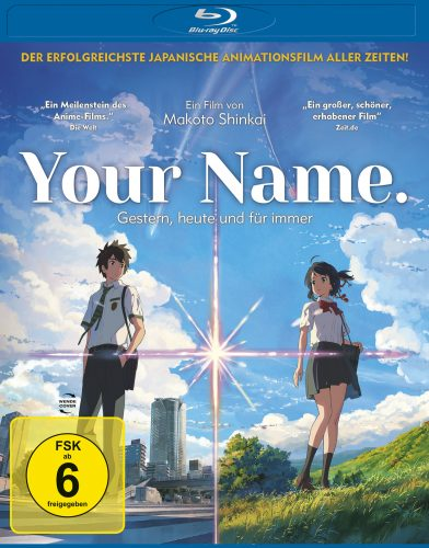 Your Name - Gestern, heute und für immer Blu-ray Review Cover