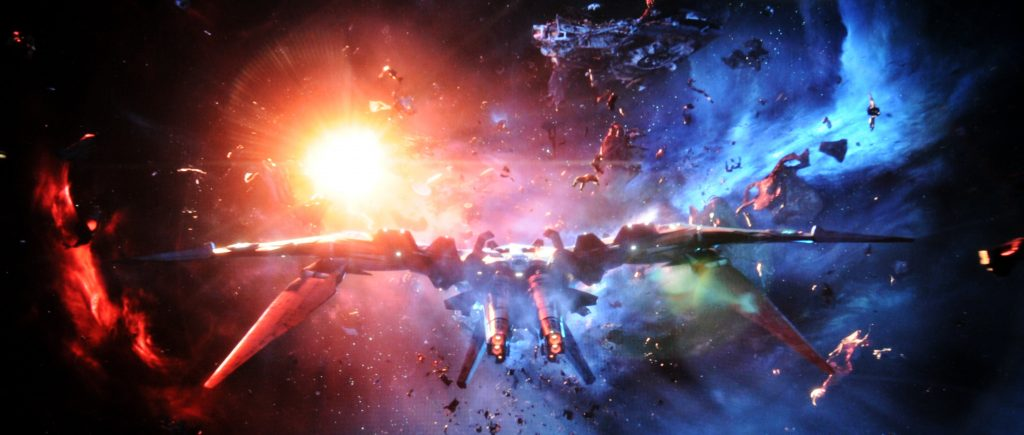 Avengers Infinity War BD vs UHD Szene 1