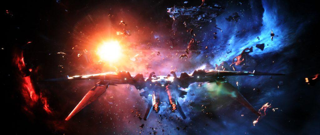 Avengers Infinity War BD vs UHD Szene 2
