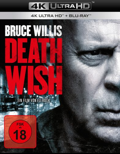 Death Wish 4K UHD Blu-ray Review Cover