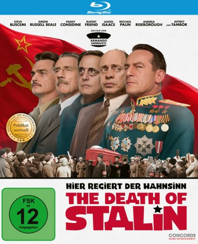 Death of Stalin Blu-ray Review Cover