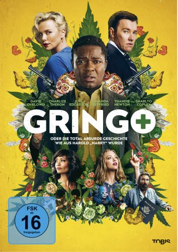 Gringo Blu-ray Review Cover