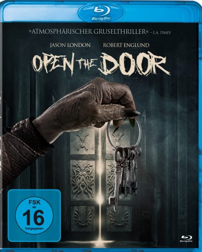 Open the Door Blu-ray Review Cover