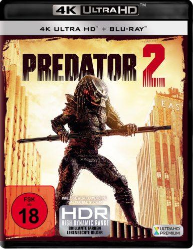 Predator 2 4K UHD Blu-ray Review Cover