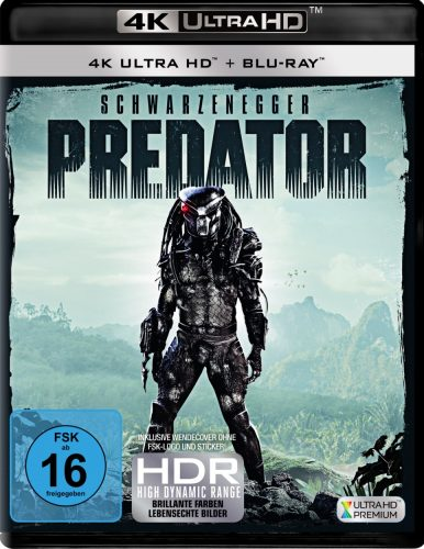 Predator 4K UHD Blu-ray Review Cover