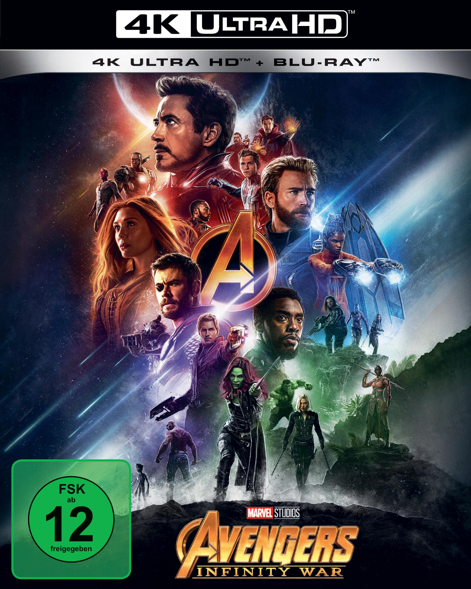 UHD Blu-ray Kritik | Avengers: Infinity War (4K Review, Rezension)