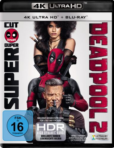 deadpool 2 4k uhd blu-ray review cover