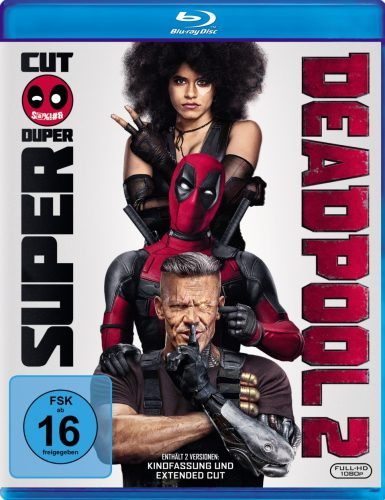 deadpool 2 blu-ray review cover
