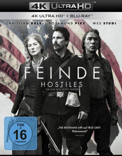 Feinde - Hostiles 4K UHD Blu-ray Review Cover