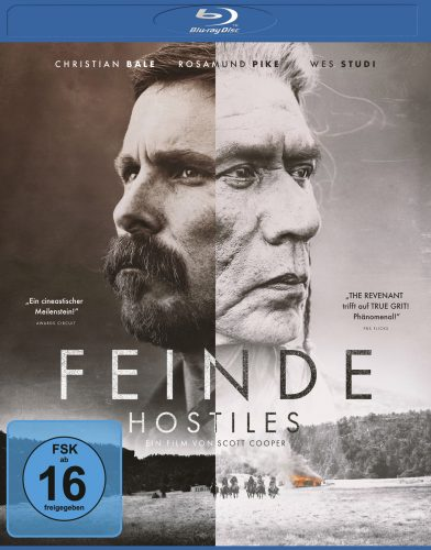 Feinde - Hostiles Blu-ray Review Cover