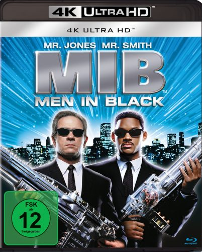 Men in Black 4K UHD Blu-ray Review Cover