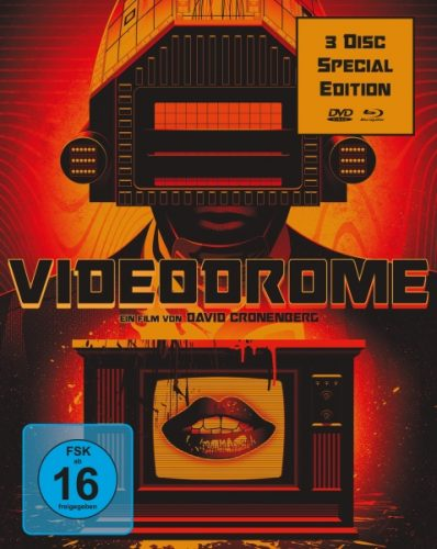Videodrome Blu-ray Review Cover