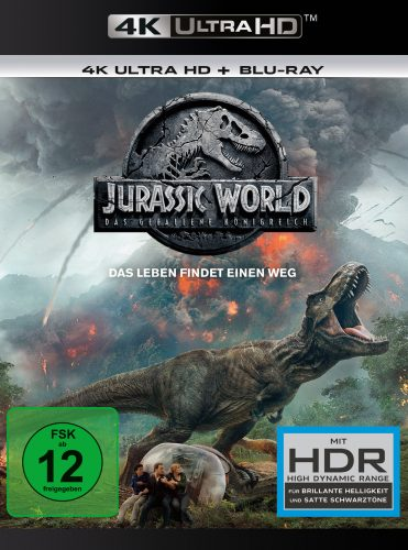 jurassic world das gefallene königreich 4k uhd blu-ray review cover
