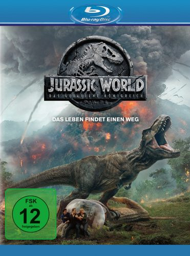 jurassic world das gefallene königreich blu-ray review cover