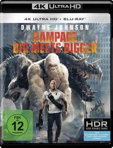 rampage - big meets bigger 4k uhd blu-ray review cover