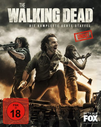 the walking dead season 8 blu-ray review cover