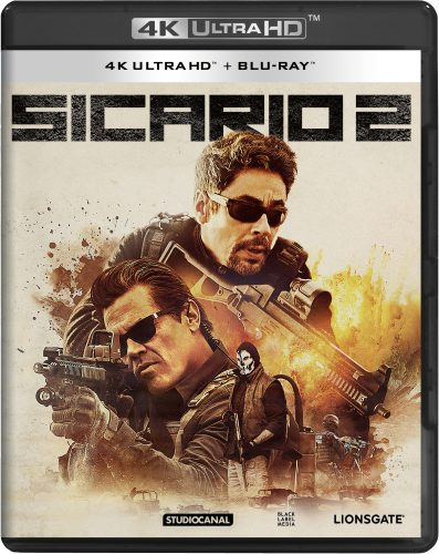 Sicario 2 4k uhd blu-ray review cover