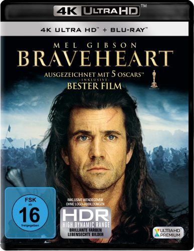 braveheart 4k uhd blu-ray review cover