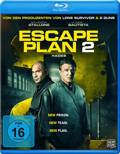 escape plan 2 hades blu-ray review cover