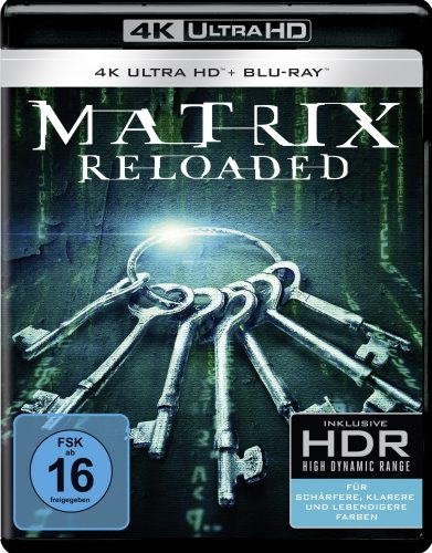 matrix reloaded 4K uhd blu-ray review cover