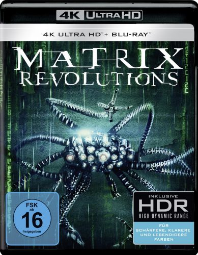 matrix revolutions 4K uhd blu-ray review cover