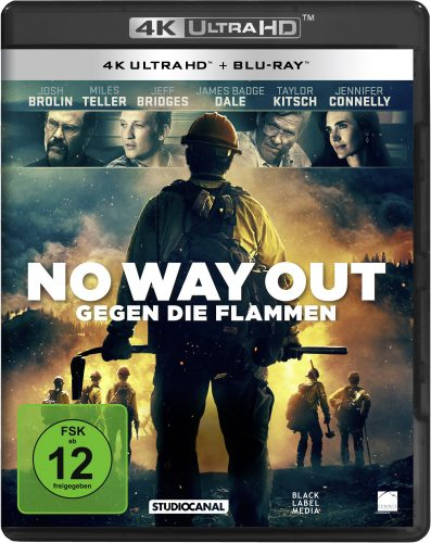 no way out - gegen die flammen 4k uhd blu-ray review cover