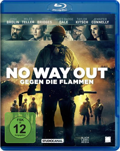 no way out - gegen die flammen blu-ray review cover