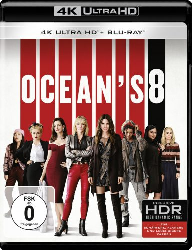 ocean's 8 4k uhd blu-ray review cover