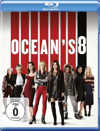 ocean's 8 blu-ray review cover