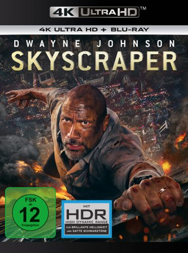 skyscraper 4k uhd blu-ray review cover